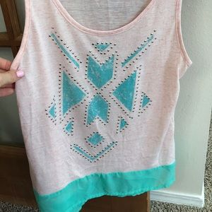 Fun shirt with cute accents.